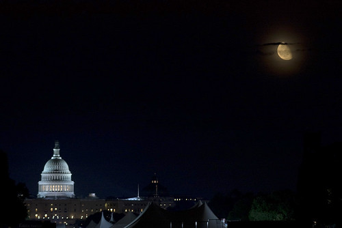 The Capitol and the Moon