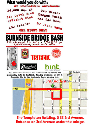 burnside bridge bash flyer