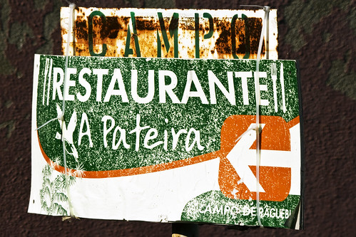 This way to the Restaurante A Pateira,  Lisbon