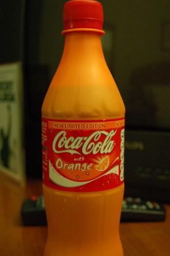 Coca-Cola with Orange