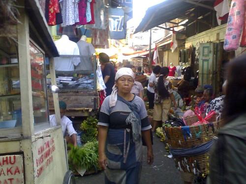 Suasana Pasar Gang Baru