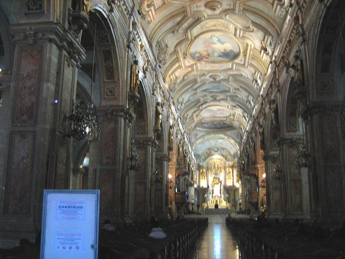 Inside Santiago Metropolitan Church 2