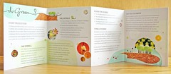 dvGreen Brochure (Part 3) (k.james) Tags: wedding green illustration logo design graphicdesign promo parties vip environment carbon brochure printed businesscard quirky sustainable artdirection weddinginvitation kenthenderson gatefold greenliving nycevents freelancedesigner newyorkevents greenwedding dvgreen daniellevenokur nycdesigner gmofree sustainableevents eventproductioncompany greenprinting weddingdesign