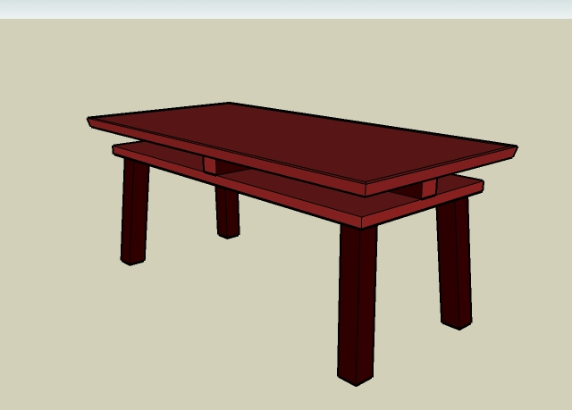 Torii Table Iso