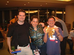 all of us at dead dog (Judith Lewis - deCabbit) Tags: japan worldcon deaddog nippon2007