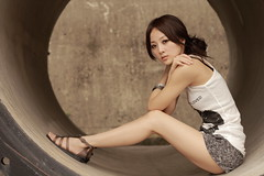 Mikako  IMG_2768 (sullivan) Tags: portrait woman beautiful beauty model eyes pretty taiwan 100views taipei 500views lovely taiwanese 1000views  ef50mmf14usm  mikako  taipeiwaterpark  canoneos7d sullivan sullivan suhaocheng