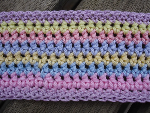 summer crochet bag WIP 003