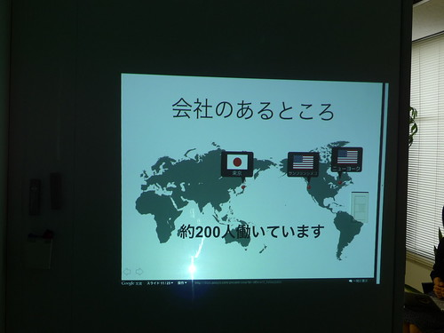 糸魚川市大和川小学校の会社訪問