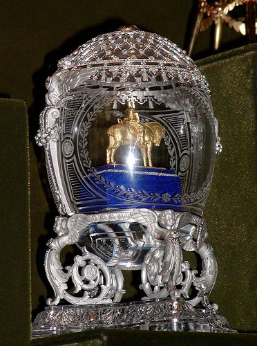 014-Huevo Alejandro III ecuestre 1910-Faberge