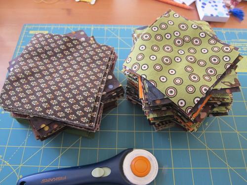 2 quilts cut