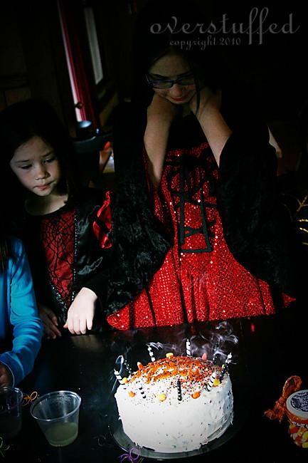 Smoking candles