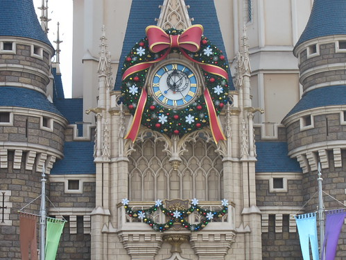シンデレラ城の時計