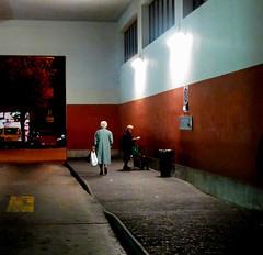 Muggia ( Trieste ) - novembre 2010 (paololongo48) Tags: old evening women loneliness sad triste solitudine flickrsbest infinestyle redmatrix