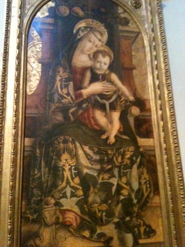 Rome, Vatican Museum, Virgin & Child by Carlo Crivelli