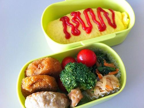 今日のお弁当 No.47 – オムライス
