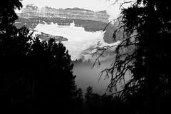 Morning View (Graham Hodgson) Tags: blackandwhite canada mountains rockies alberta lakelouise 70200f4l eos400d