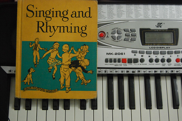 Singing & Rhyming book
