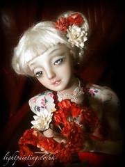 Lilith (cureilona of Lightpainted Doll) Tags: sculpture woman art marina ball photography photo doll artist dolls handmade oneofakind ooak bisque bjd figurine delicate ilona porcelain enchanted collectable sculpting sculpt jointed bychkova jurgiel ilonajurgiel