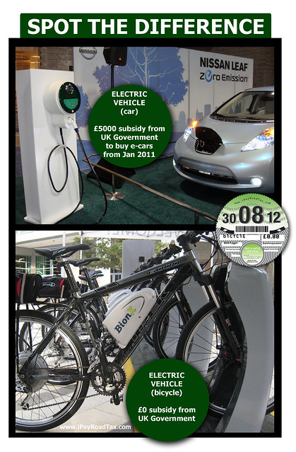 ecar ebike spot the difference