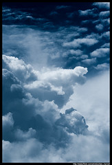 Blue Clouds (Dan Harrod) Tags: blue sky cloud nikon supershot d80 nikon80400mm colourtone colouriized