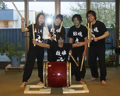 HCC Yamato Daiko (Student) Club (highlinelibrary) Tags: public interior library programs academic highline 2007 hcc libslibs librariesandlibrarians hcclibrary 365libs