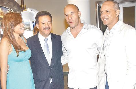 Vin Diesel y Leonel