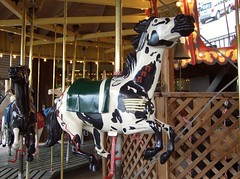 Buffalo Wyoming Cowboy Carousel (Fran 53) Tags: summer wheel buffalo 4th july carousel ferris wyoming 2007