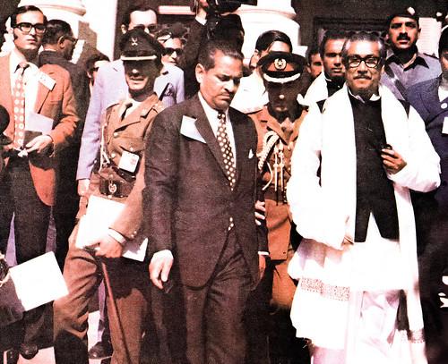 Sheikh Mujibur Rehman in Lahore