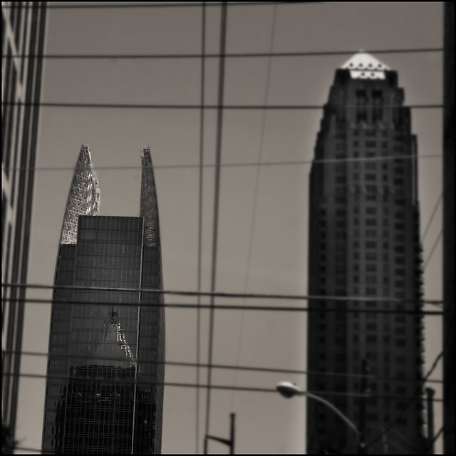 Wires and penthouses, Atlanta