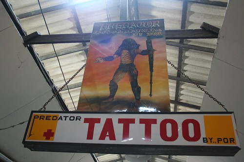 The Predator Tattoo Shop.