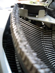 Typewriter guts