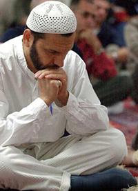 muslm praying