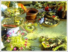 Bali - desa adat Kuta (Franc Le Blanc .) Tags: travel bali indonesia asia ceremony tradition hindu breathtaking dimagez3 kuta offerings adat konicaminolta canang francleblanc onlythebestare colourartaward dazzlingshots