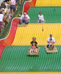 Ride the Giant Slide!
