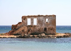 Window to the sea (maksid) Tags: sea window ruin greece peloponissos lakonia