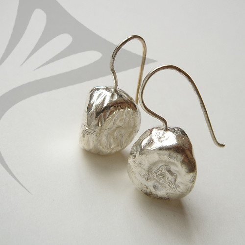 Thai silver ball earrings : Asian iCandy Store, Unique Asian Arts and Gifts From Independent Artists :  thai silver womens earrings