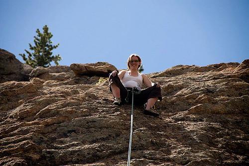 Pregnant Climbing