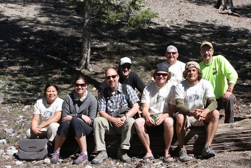 KEEN Crew and Friends of Nevada Wilderness