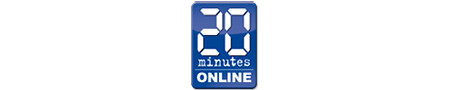 Logo 20 Minutes Online by Yassin Halhoul, on Flickr