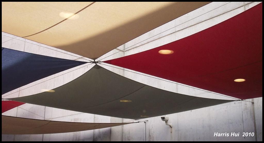 Sun Shades in Cafeteria - Picasso Museum Barcelona S0229e