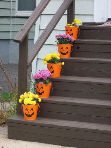 Halloween Flower Pots