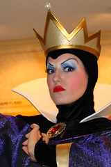 She's just oh so Wicked... (Ring of Fire Hot Sauce 1) Tags: disneyland wickedqueen