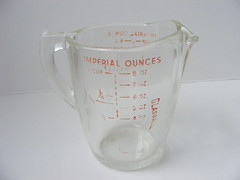 old Glasbake measuring cup (Tulip Girl) Tags: measuringcup glasbake imperialounces