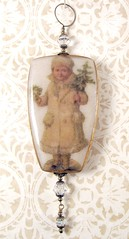 2010 Holiday Ornament Collection - Victorian Boy with Tree