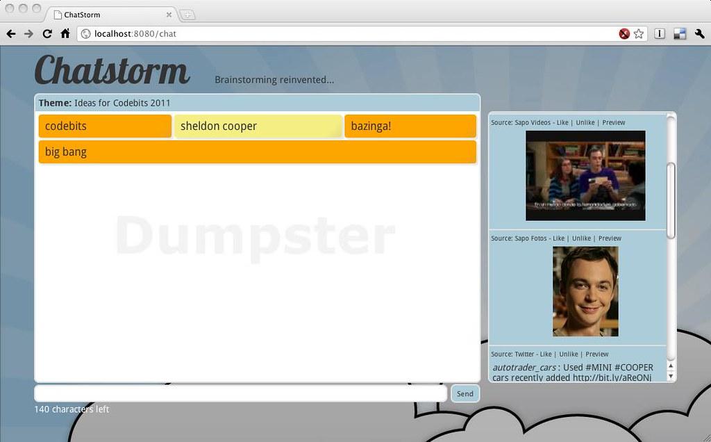 Chatstorm screenshot 2