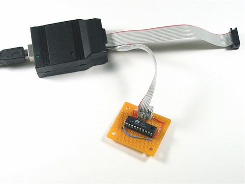 USBtinyISP and simple target