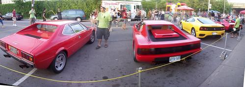 Ferrari butt panorama!