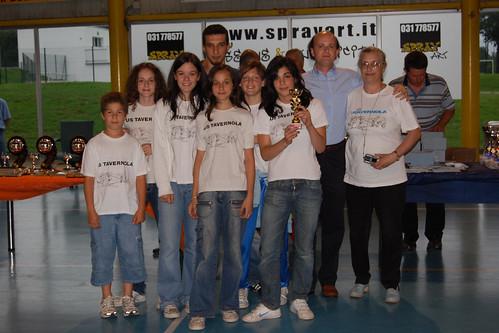 premiazioni FIPAV 2006-07 Under 13