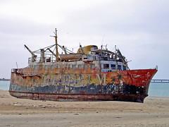 Stranded (mhobl) Tags: strand morocco maroc wreck shipwrecks marokko laayoune maghrib abigfave