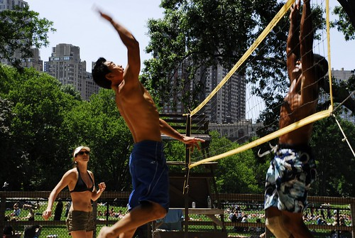 Volleyball in Central Park 2